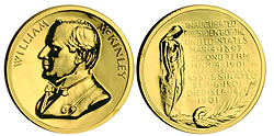 1993 McKinley Gold Plated Medal & Capsule