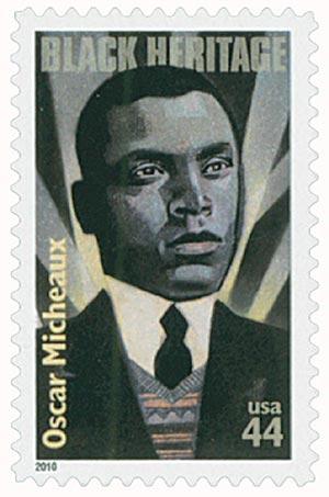 2010 44c Black Heritage: Oscar Micheaux