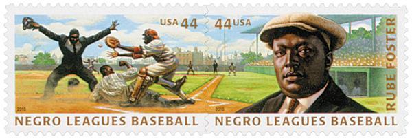 2010 44c Negro Leagues Baseball