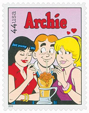2010 44c Sunday Funnies: Archie