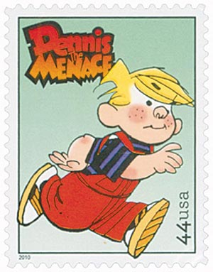 2010 44c Sunday Funnies - Dennis the Menace