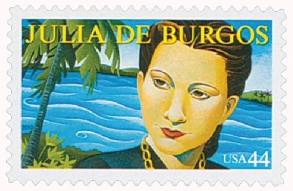 2010 44c Literary Arts: Julia de Burgos
