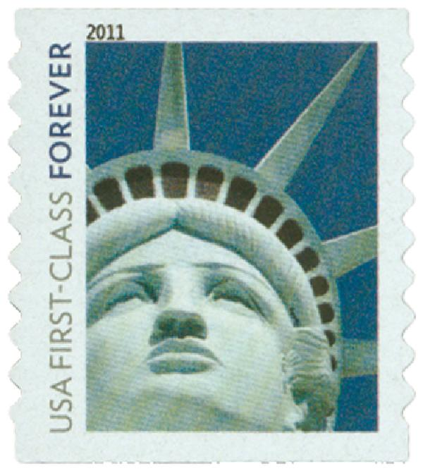 2010 First-Class Forever Stamp -  Lady Liberty (Ashton Potter)