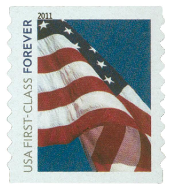2010 First-Class Forever Stamp -  Flag Forever (Ashton Potter)
