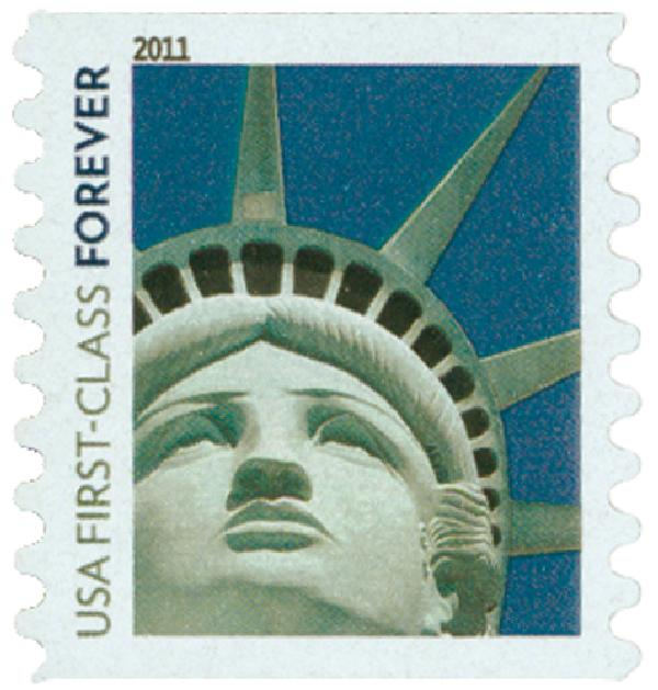 2010 First-Class Forever Stamp -  Lady Liberty (Sennett Security)