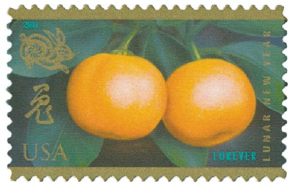 2011 First-Class Forever Stamp - Chinese Lunar New Year: Year of Rabbit