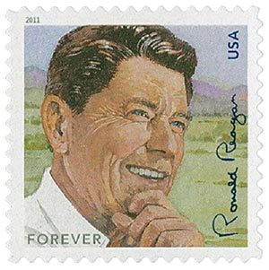 2011 First-Class Forever Stamp -  Ronald Reagan