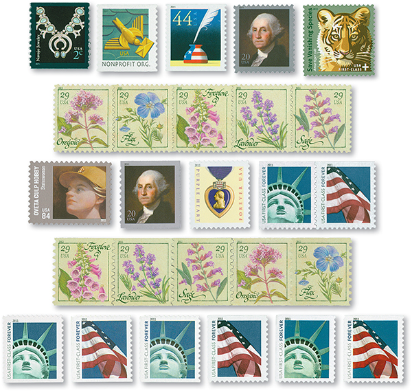 2011 Regular Issue Collection, Set of 26