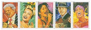 2011 First-Class Forever Stamp - Latin Music Legends