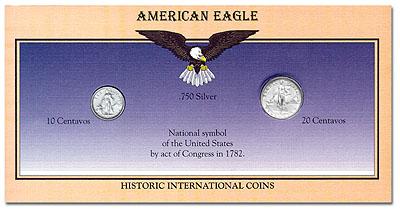 1994 American Eagle Coin Display Card