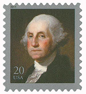 2011 20c George Washington