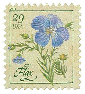 2011 29c Herbs: Flax