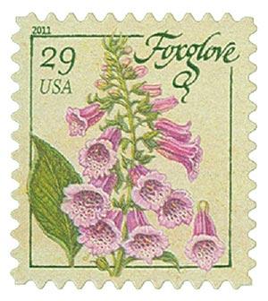 2011 29c Herbs: Foxglove