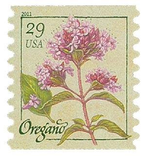 2011 29c Herbs: Oregano, coil