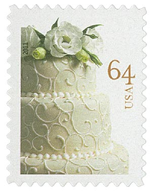 2011 64c Wedding Series: Wedding Cake