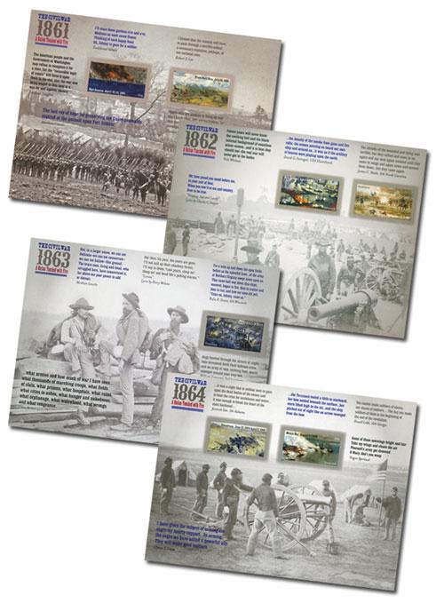 2011-14 Civil War Sesquicentennial Sheet