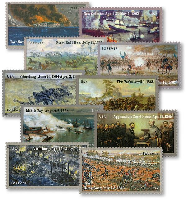 Complete Set - 2011-15 Civil War Sesquicentennial Series