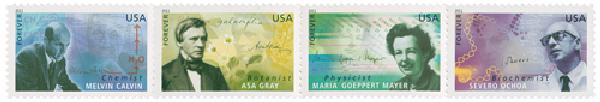 2011 First-Class Forever Stamp - American Scientists