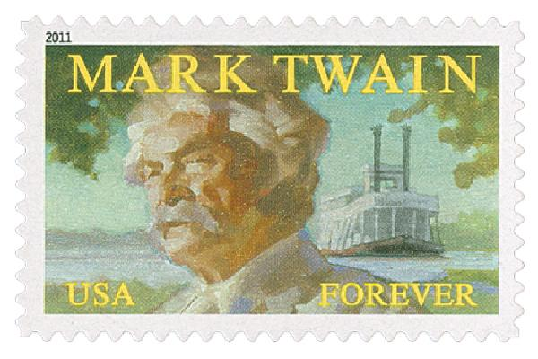 2011 First-Class Forever Stamp -  Mark Twain