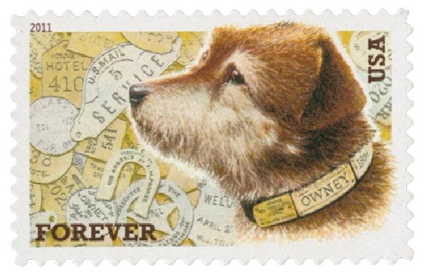US #4547 was issued to honor Owney in 2011.