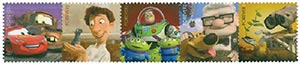 2011 First-Class Forever Stamp - Disney-Pixar Films: Send a Hello