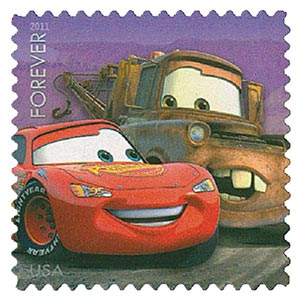 2011 44c Disney-Pixar Films, Cars