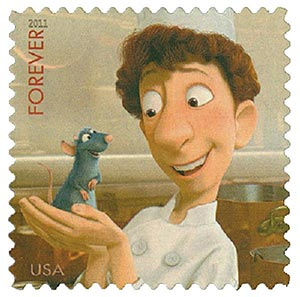 2011 44c Disney-Pixar Films, Ratatouille