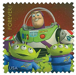 2011 44c Disney-Pixar Films, Toy Story