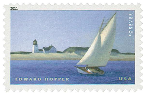 2011 First-Class Forever Stamp -  American Treasures: Edward Hopper
