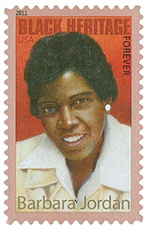 2011 First-Class Forever Stamp - Black Heritage: Barbara Jordan