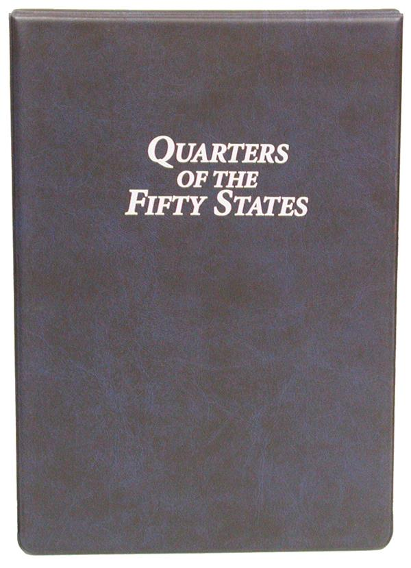 Statehood Quarter Panel Collection Binder