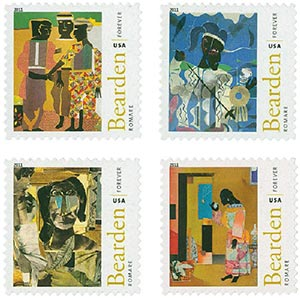 2011 First-Class Forever Stamp - Romare Bearden (1911-1988)