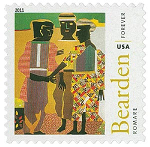 2011 First-Class Forever Stamp - Romare Bearden: Conjunction
