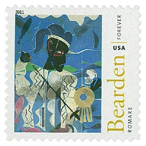 2011 First-Class Forever Stamp - Romare Bearden: Odysseus