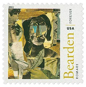 2011 First-Class Forever Stamp - Romare Bearden: Conjur Woman