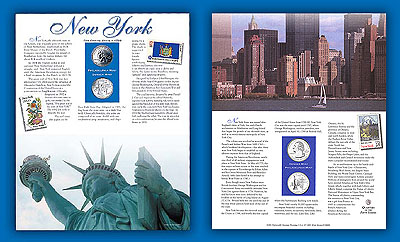 2001 New York Story Card