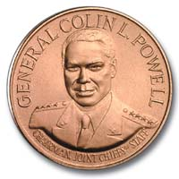 1991 General Colin Powell Bronze Medal