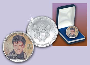2002 Young Rocker Elvis® Amer. Eagle Slver $1