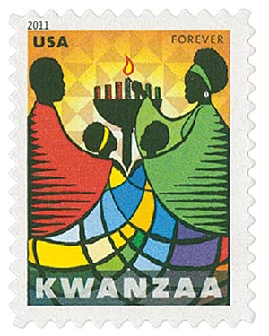 2011 First-Class Forever Stamp - Kwanzaa