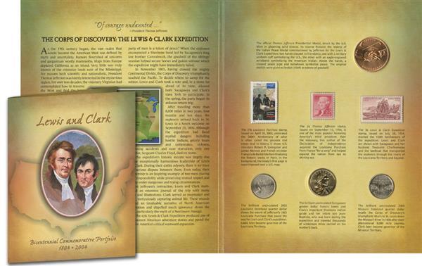2004 Lewis & Clark Bicentennial Commemorative Portfolio