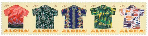 2012 32c Aloha Shirts