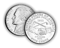 2004 5c Peace Medal