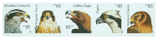 2012 85c Birds of Prey