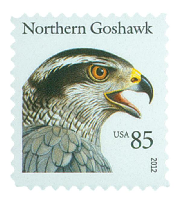 2012 85c Birds of Prey: Northern Goshawk