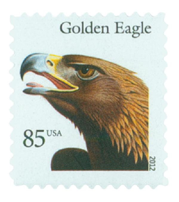 2012 85c Birds Of Prey Golden Eagle For Sale At Mystic Stamp Company