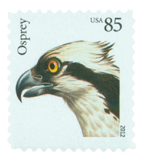 2012 85c Birds of Prey: Osprey