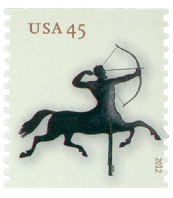 2012 45c Weathervanes: Centaur