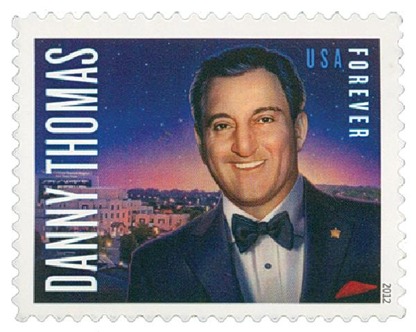 2012 First-Class Forever Stamp - Danny Thomas
