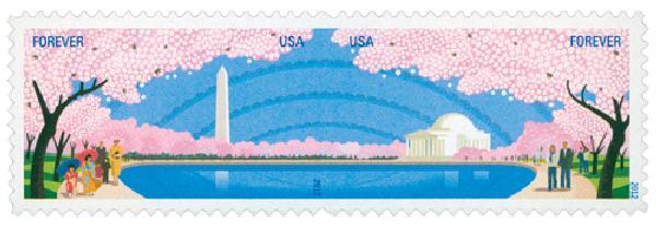 2012 First-Class Forever Stamp - Cherry Blossom Centennial