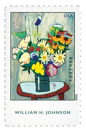 2012 William H. Johnson stamp